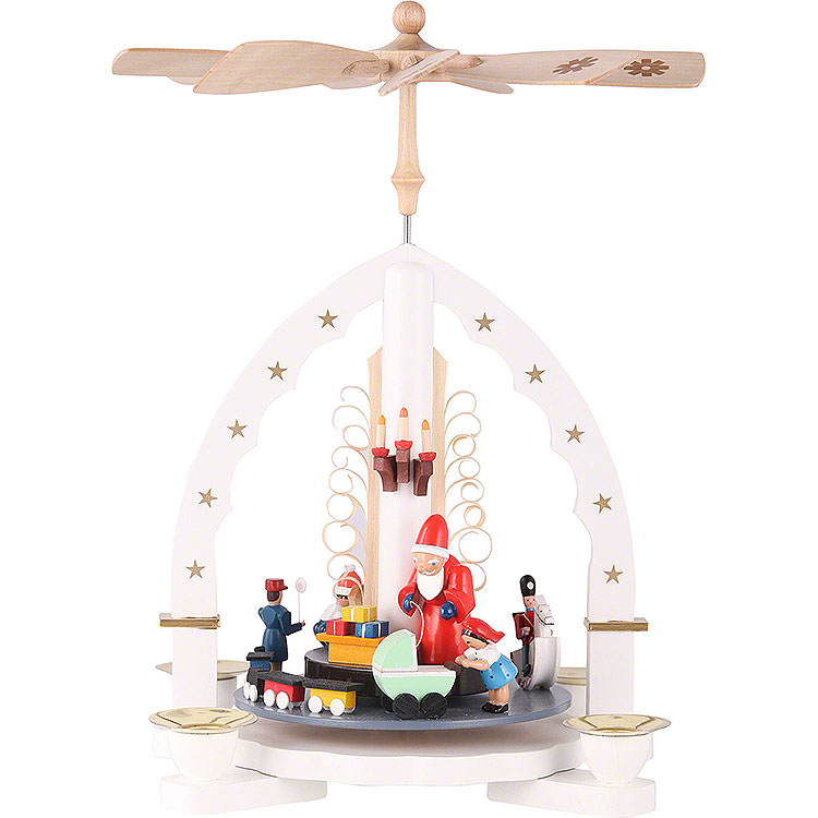 1 - Tier Pyramid  -  The Giving  -  White  -  27cm / 11 inch