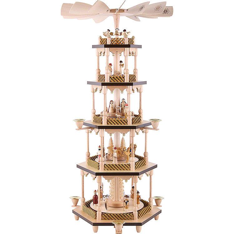 5 - stöckige Pyramide Christi Geburt  -  70cm