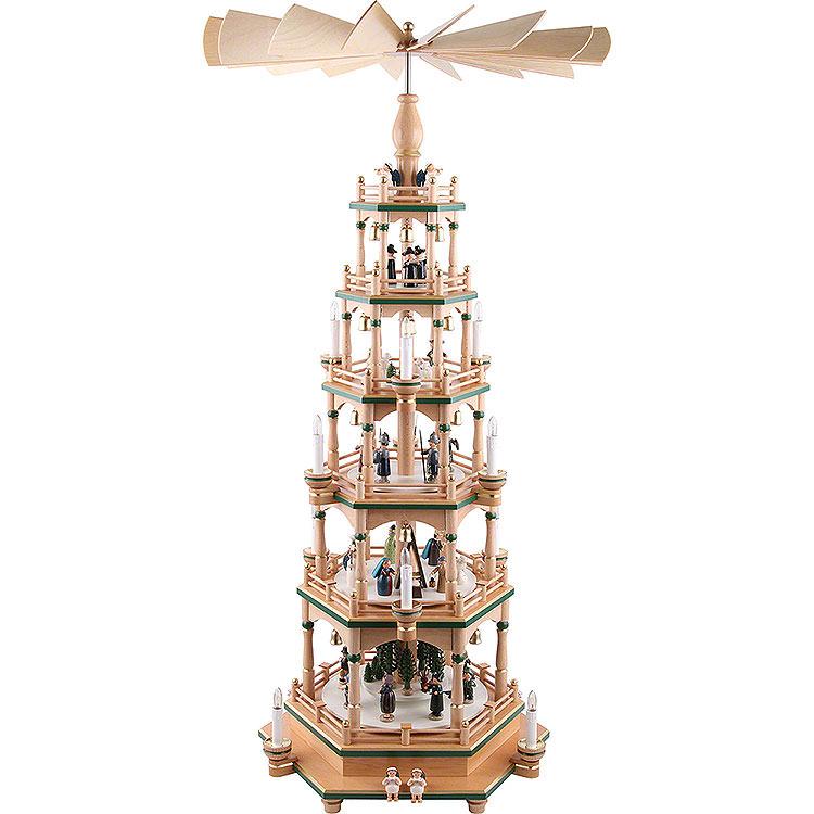 6 - stöckige Pyramide Paradies  -  106cm