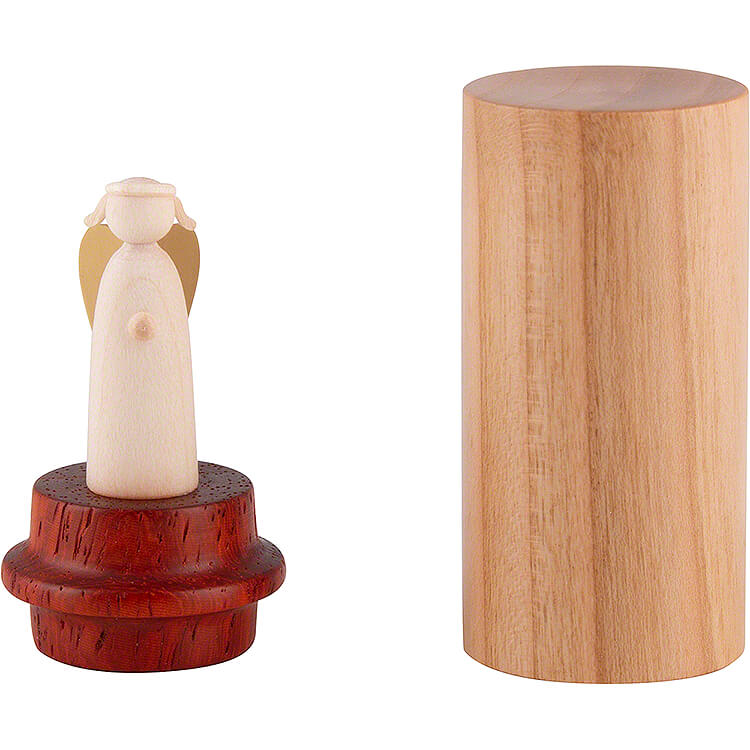 Angel To Go  -  Cherrywood with Padouk  -  6cm / 2.4 inch