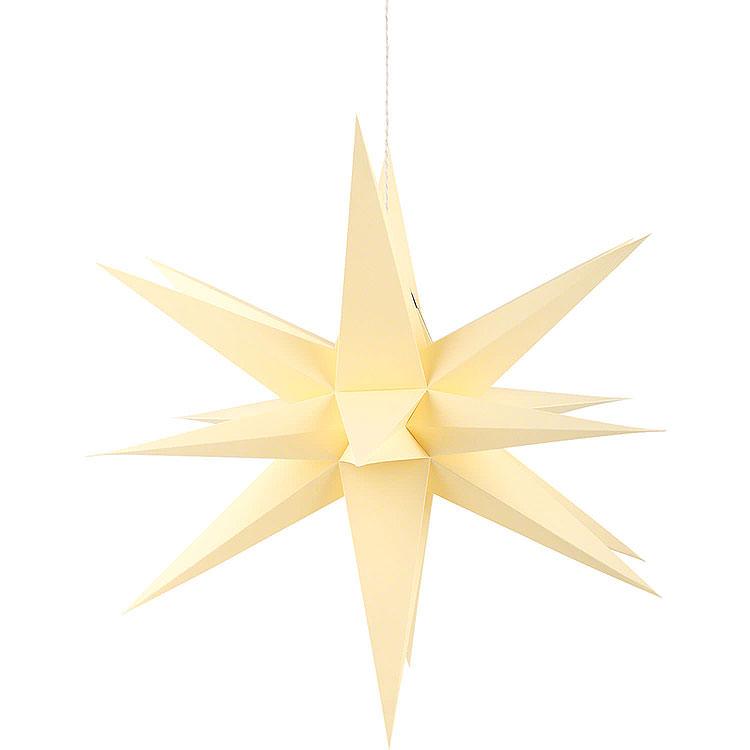 Annaberger Faltstern für Innen gelb  -  70cm