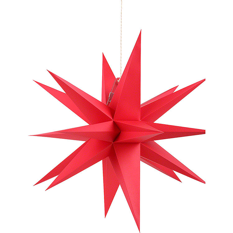 Annaberger Faltstern für Innen rot  -  35cm