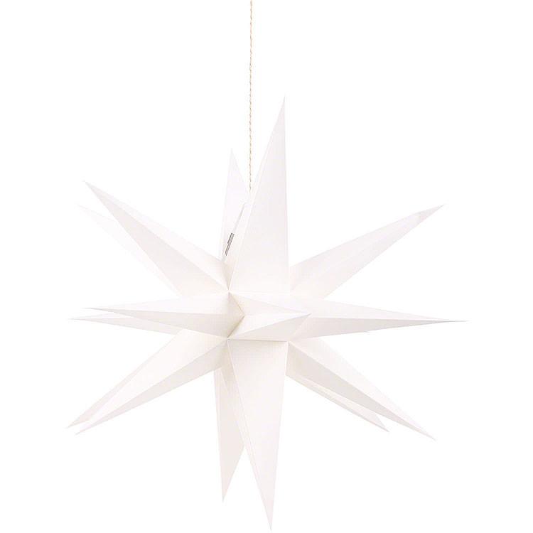 Annaberger Faltstern für Innen weiß  -  58cm