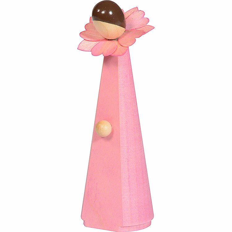 Blumenmädchen, pink  -  11cm