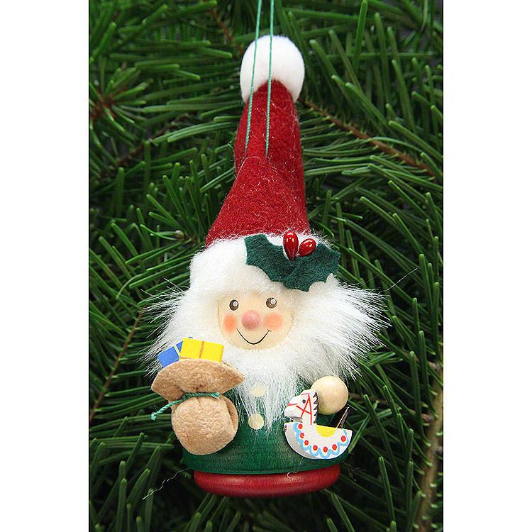 Christbaumschmuck Wackelmännchen Weihnachtsmann  -  12,5cm