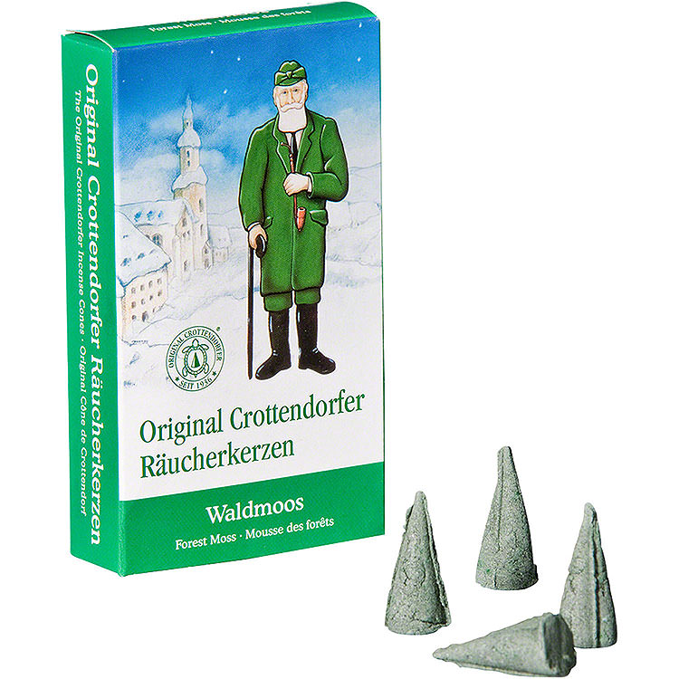 Crottendorfer Incense Cones  -  Forest Moss