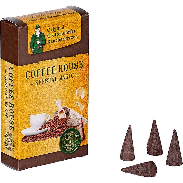 Crottendorfer Räucherkerzen  -  Sensual Magic  -  Coffee House