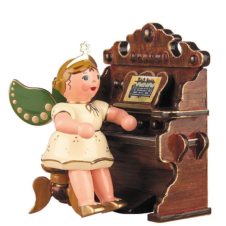 Engel mit Harmonium  -  6,5cm
