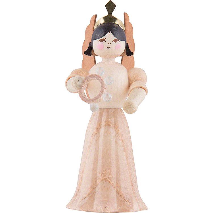Engel mit Schellenring  -  7cm