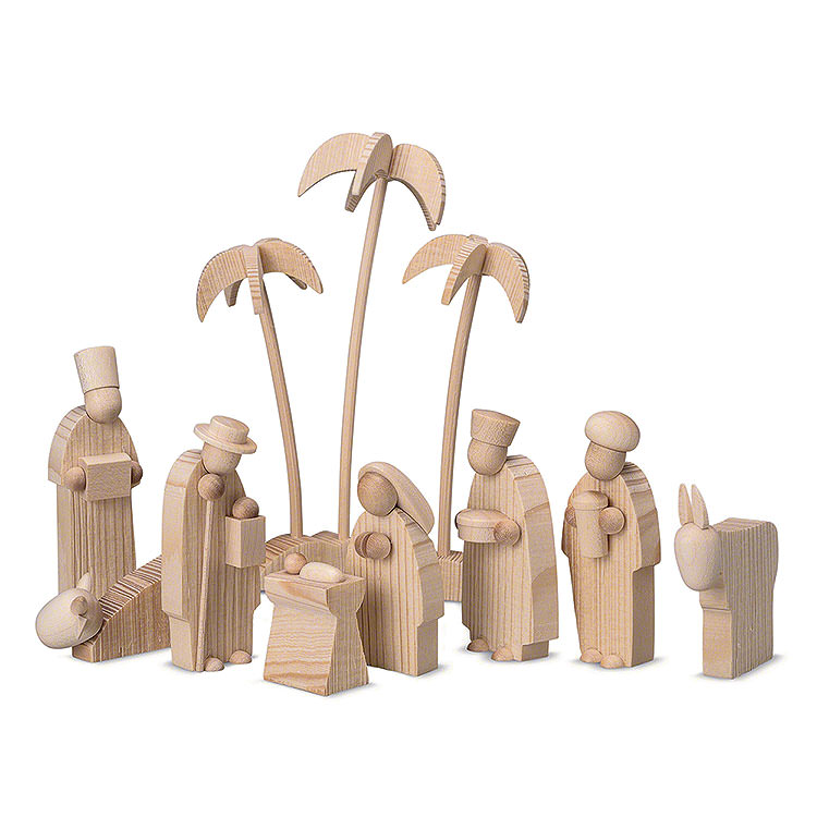 Figurines for Pyramid LUMA  -  Nativity  -  15cm / 5.9 inch