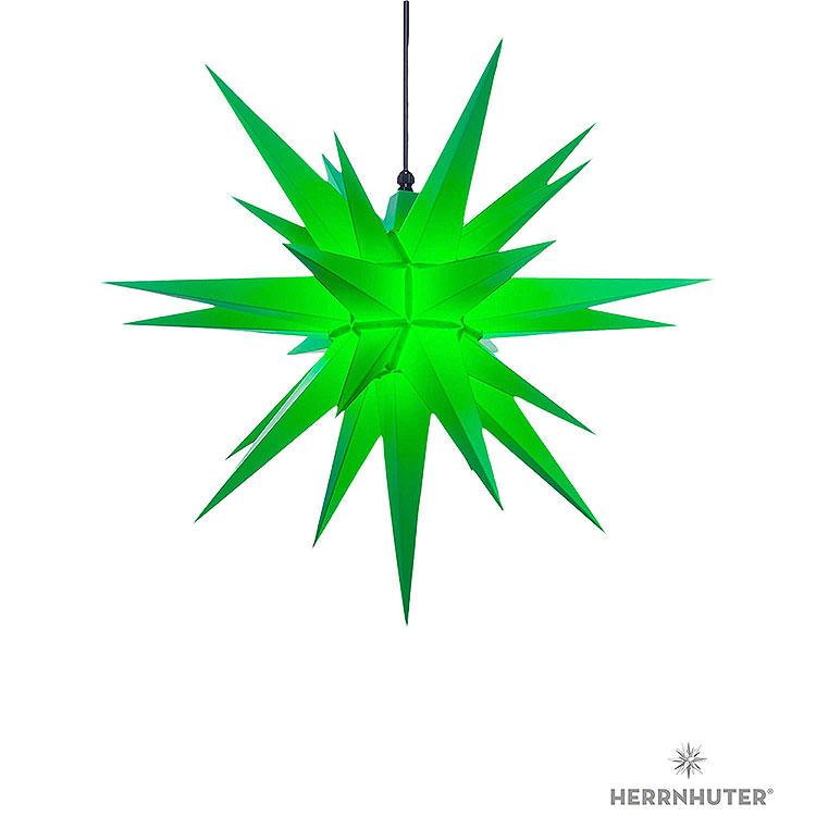 Herrnhuter Stern A7 grün Kunststoff  -  68cm