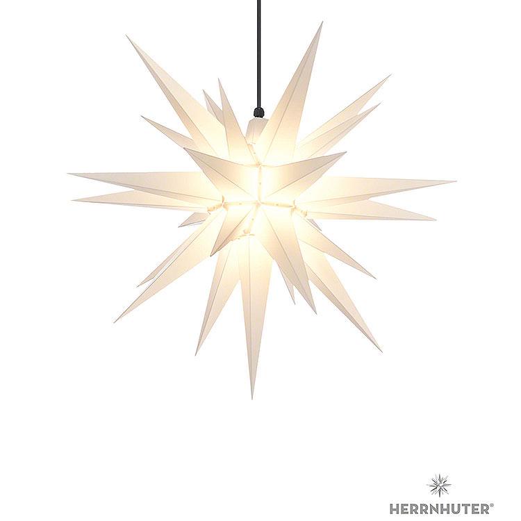 Herrnhuter Stern A7 weiss Kunststoff  -  68cm