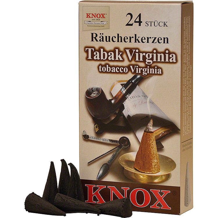 Knox Räucherkerzen  -  Tabak Virginia