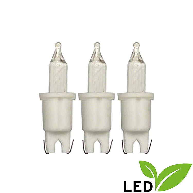 LED - Pisellokerze  -  warmweiß  -  3V/0,06W