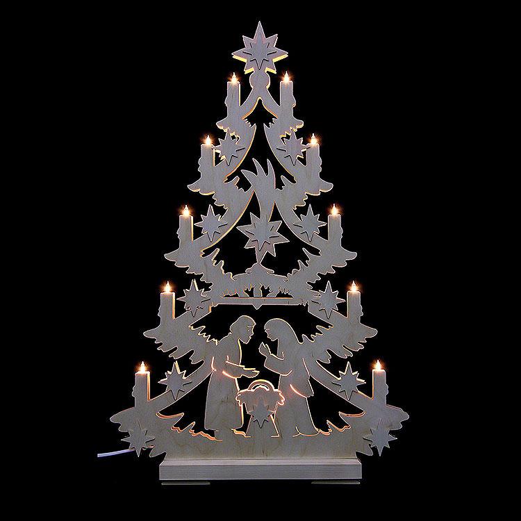 Lichterspitze Christbaum  -  70x46x5,5cm