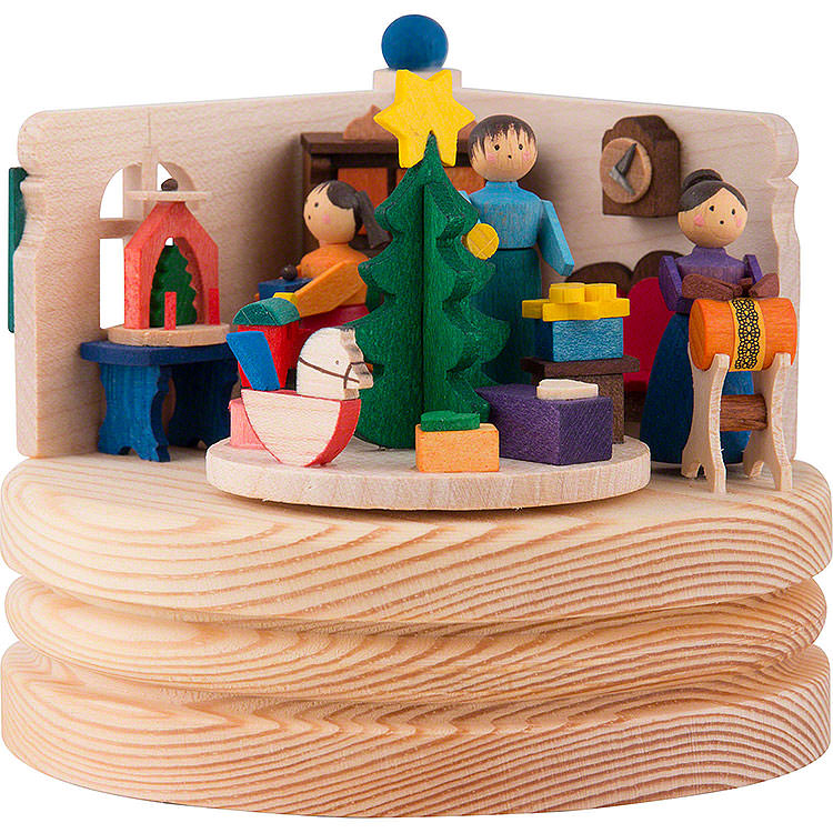 Music Box Christmas Snuggery  -  8,5cm / 3.3 inch