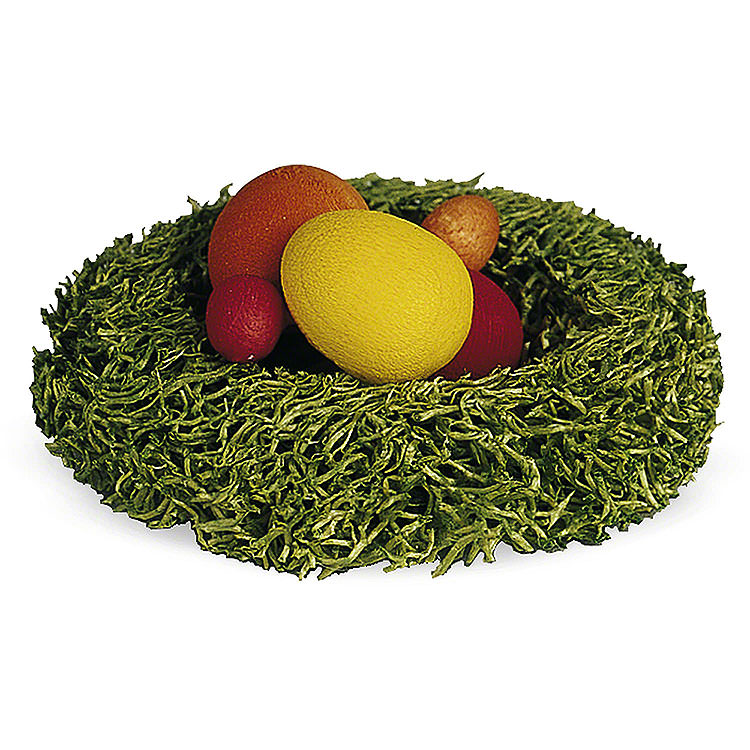 Nest mit Ostereiern  -  1cm
