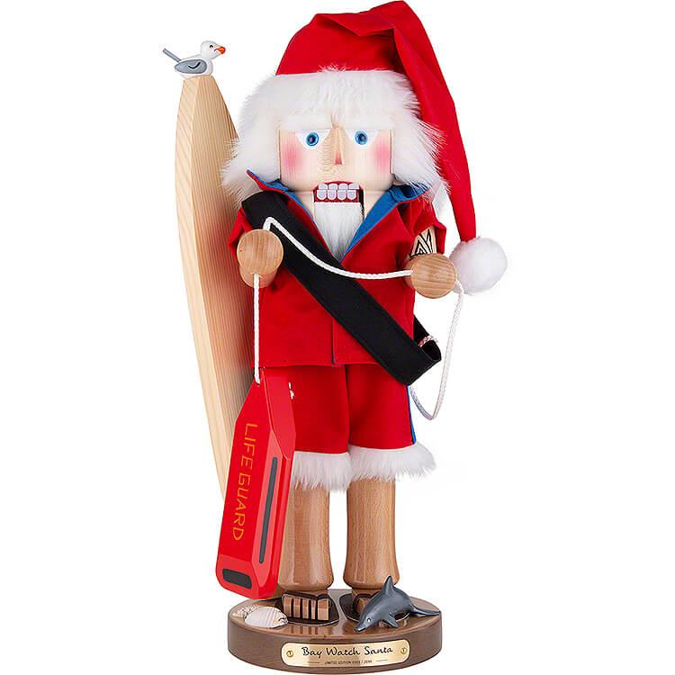 Nussknacker Baywatch Weihnachtsmann  -  46cm