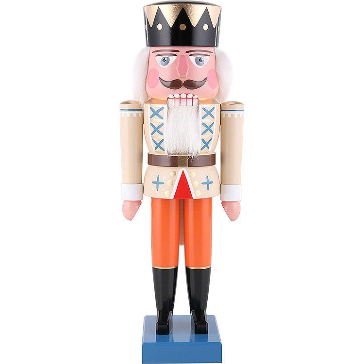 Nussknacker König beige  -  36cm