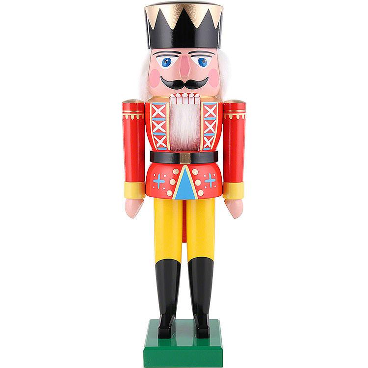 Nussknacker König rot  -  36cm