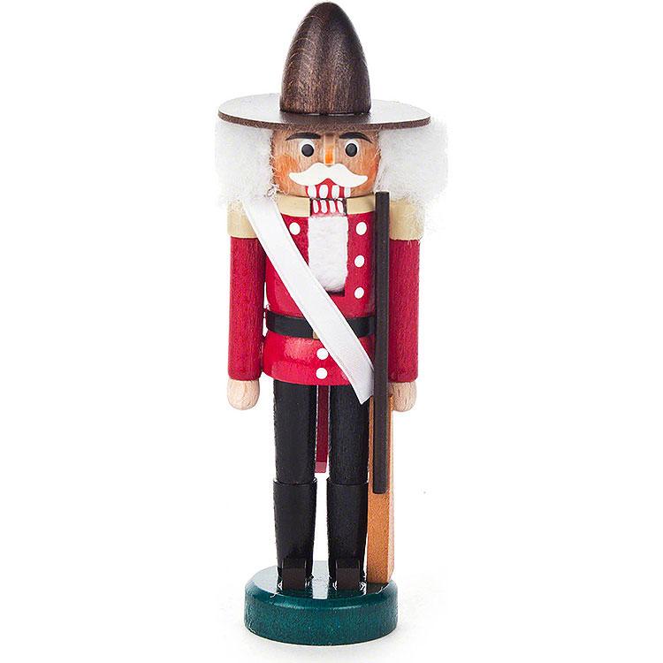 Nutcracker  -  Canadian Red - Black  -  13cm / 5.1 inch