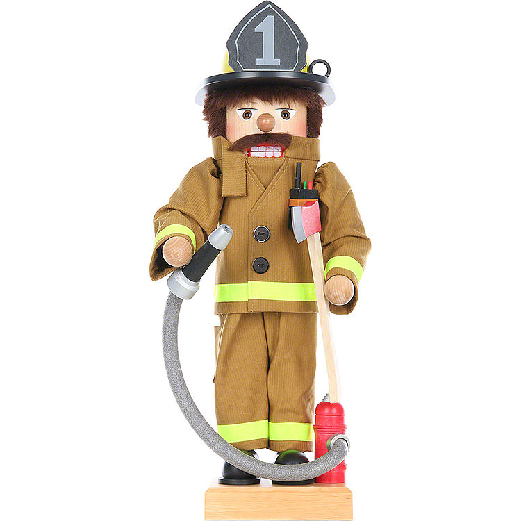 Nutcracker  -  Fire Fighter  -  Limited Edition  -  48cm / 19 inch