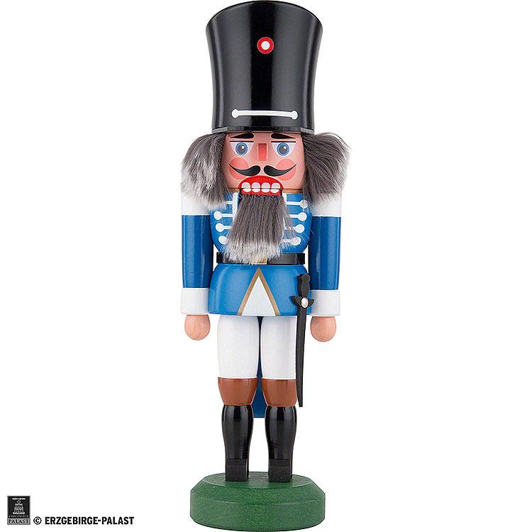 Nutcracker  -  Guard with Saber Blue  -  26cm / 10 inch