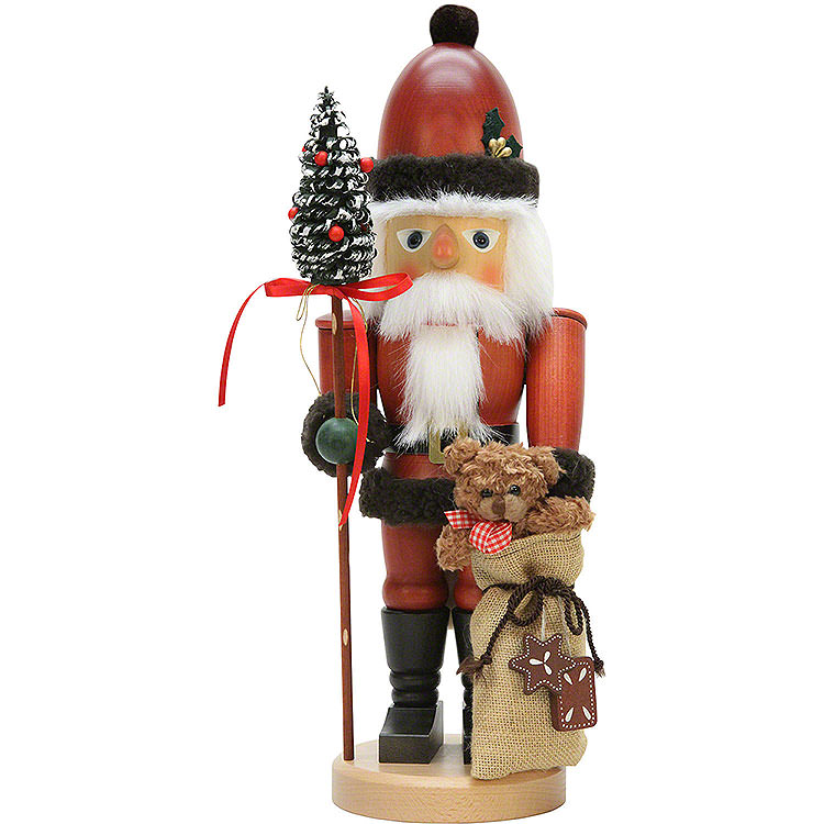 Nutcracker  -  Santa Claus with Teddy  -  44,5cm / 18 inch