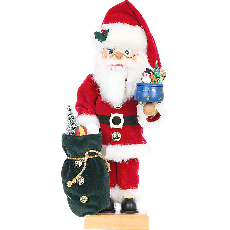Nutcracker  -  Santa with Music Box  -  Limited Edition  -  47,5cm / 18.6 inch