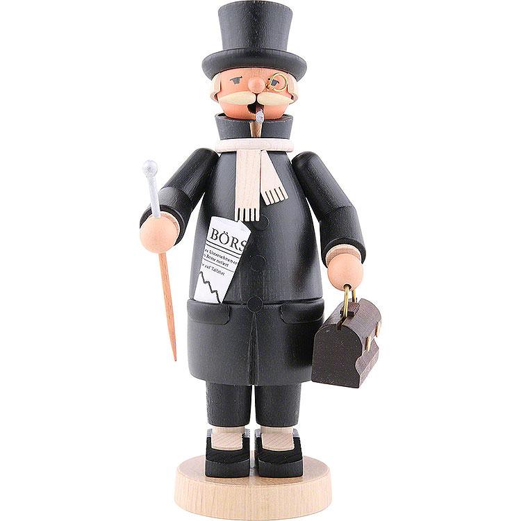 Räuchermännchen Banker  -  20cm