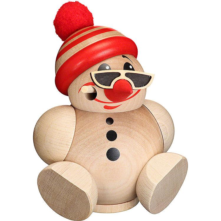 Räuchermännchen Cool Man mit Mütze  -  Kugelräucherfigur  -  12cm