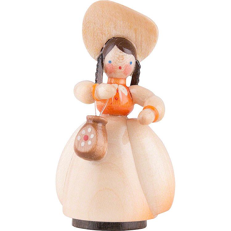 Schaarschmidt Hut - Dame mit Tasche  -  4cm