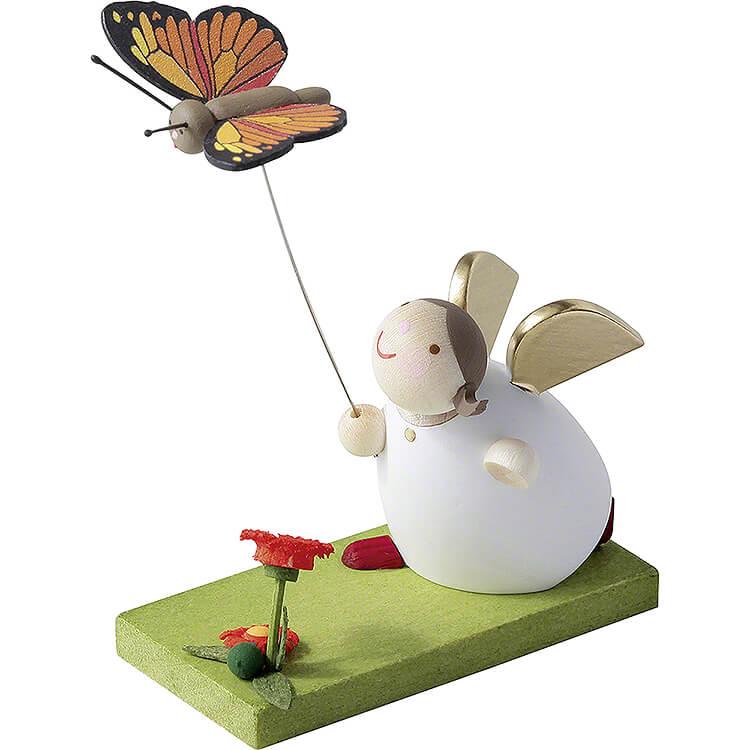 Schutzengel mit Schmetterling  -  3,5cm