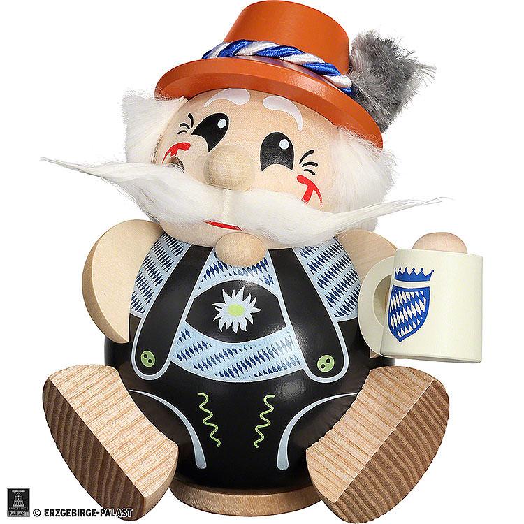 Smoker  -  Bavarian exclusive  -  Ball Figur  -  12cm / 4.7 inch