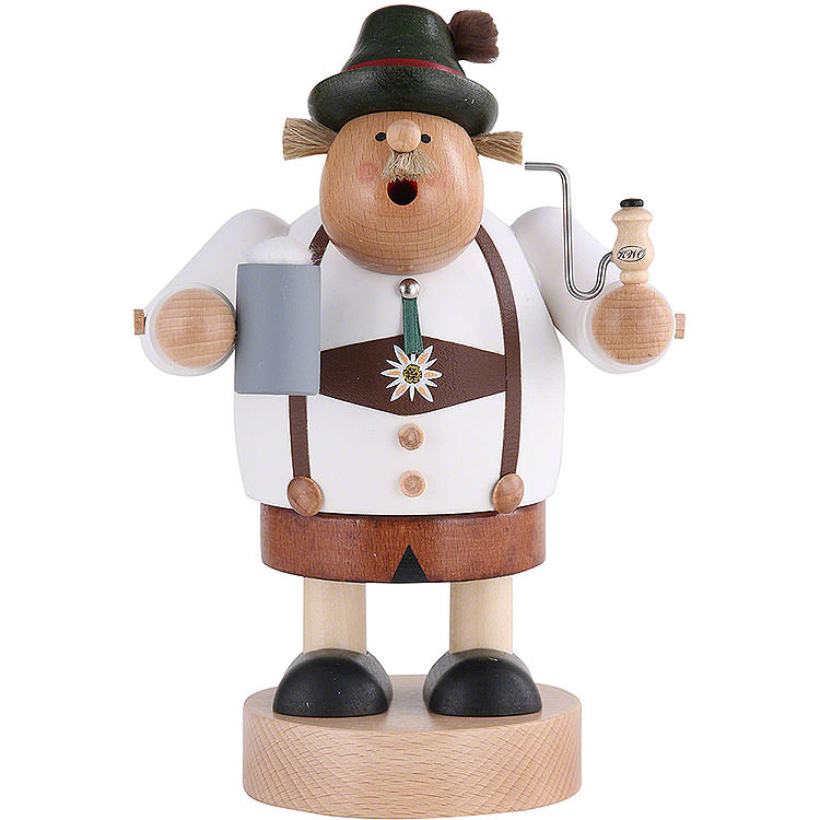 Smoker  -  Bavarian with Stein  -  20cm / 8 inch