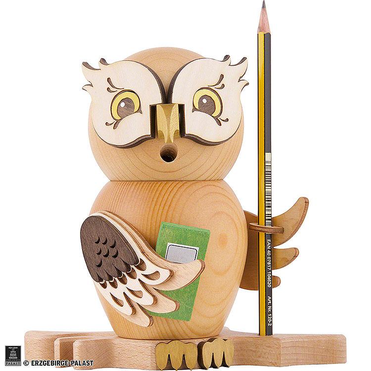 Smoker  -  Owl Student  -  15cm / 5.9 inch