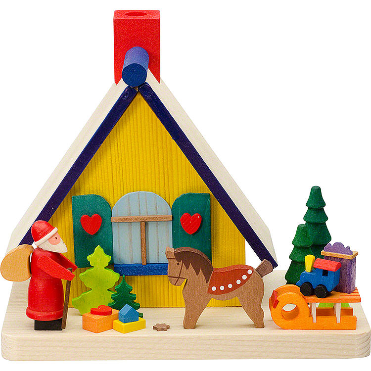 Smoking Hut  -  Santa Claus  -  11cm / 4.3 inch