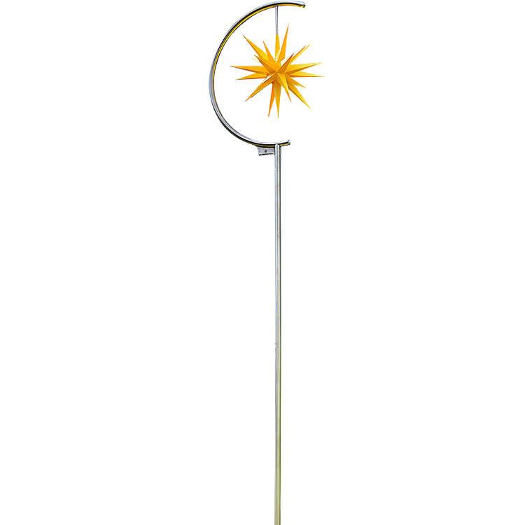 Sternenleuchte Außenbereich  -  gelb  -  366cm