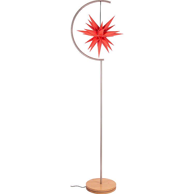 Sternenleuchte Innenbereich mit I6 rot  -  236cm