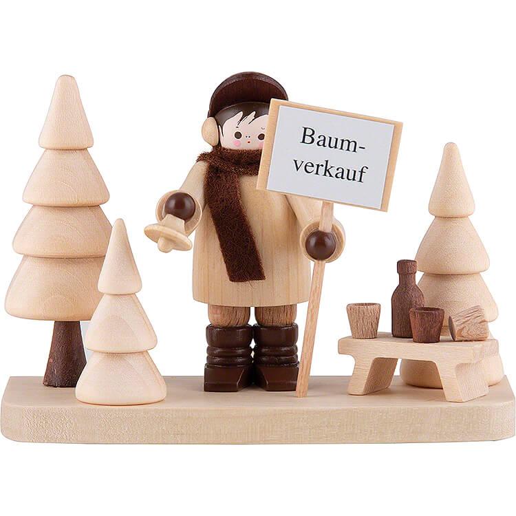 Thiel - Figur Baumverkauf, auf Sockel  -  6cm