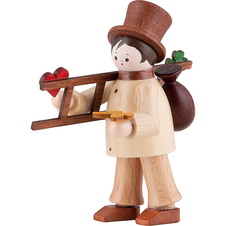 Thiel - Figur Glücksbringer  -  natur  -  6,5cm