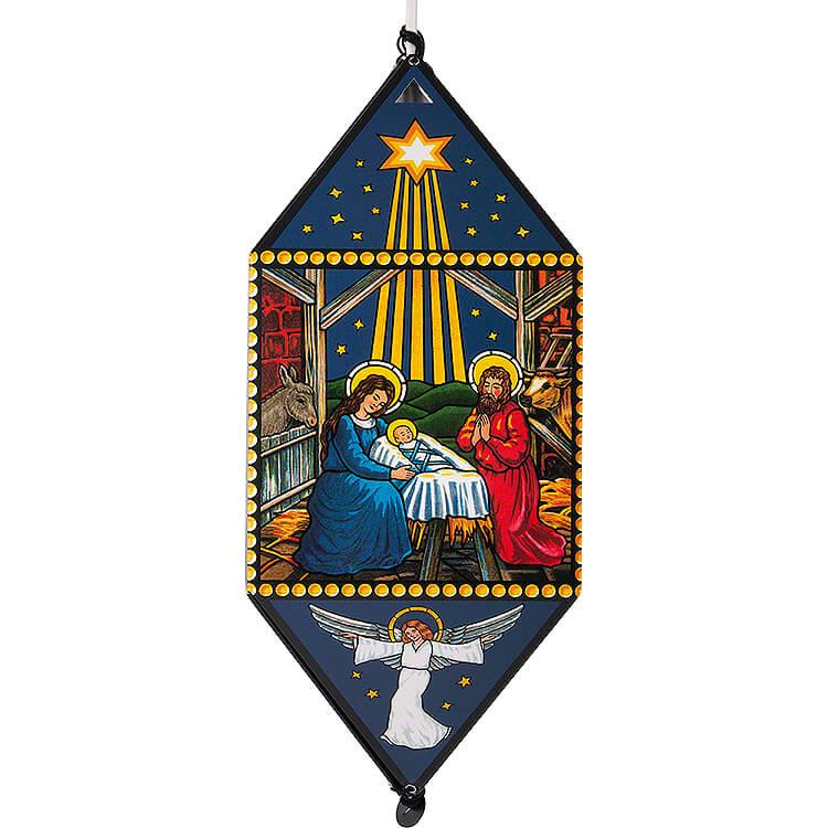 Weihnachtslaterne Christi Geburt  -  40cm