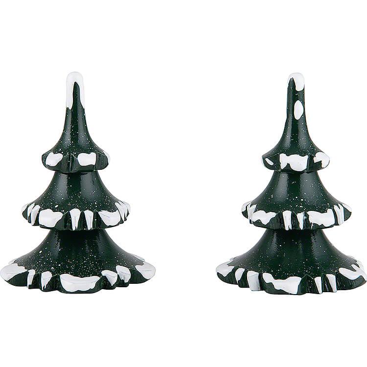 Winterkinder 2er - Set Baum  -  klein  -  6cm