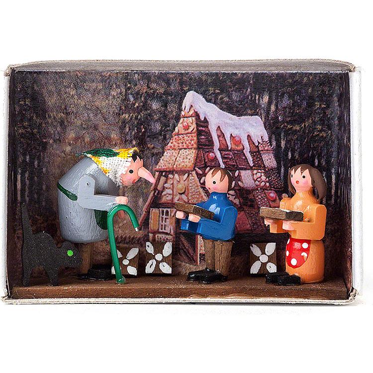Zündholzschachtel Hänsel und Gretel  -  4cm