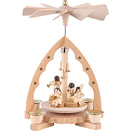 1 - Tier Pyramid  -  Angel Concert  -  19cm / 7 inch