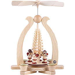 1 - Tier Pyramid  -  Angels Musicians  -  29cm / 11 inch