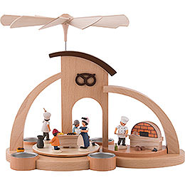 1 - Tier Pyramid  -  Bakery (27cm / 10.62inch)