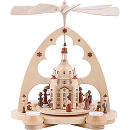 1 - Tier Pyramid  -  Church of Our Lady Dresden  -  34cm / 13 inch