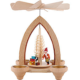1 - Tier Pyramid  -  Gnome  -  Colored  -  26cm / 10.2 inch