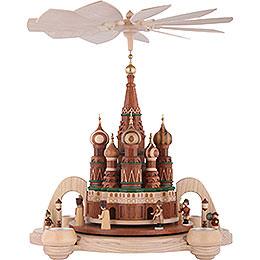 1 - stöckige Pyramide Basilius - Kathedrale in Moskau  -  40cm